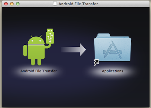Android File Transfer ダウンロード3