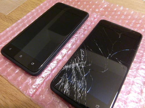 安心ケータイサポート HTC J 6