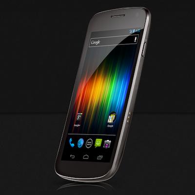 Galaxy Nexus 端末画像