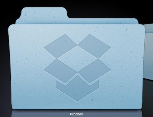 Dropbox Mac フォルダ