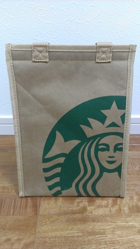 スターバックス福袋 2013年 保冷バッグ