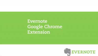 Evernote Google Chrome Extension image