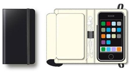 MOLESKINE Folio iPhoneCover イメージ