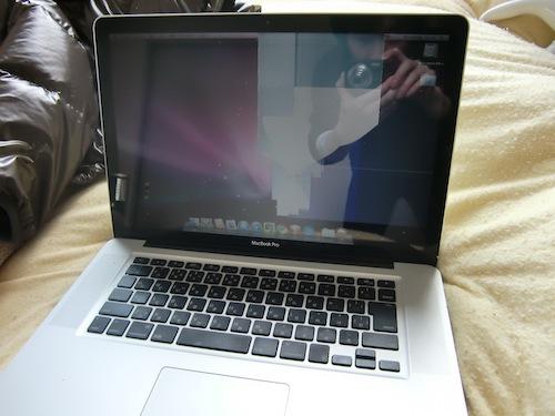 東日本大震災 MacBook Pro