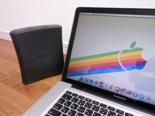Mac 外付けHDD FAT32 フォーマット ディスクユーティリティ