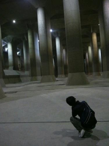 首都圏外郭放水路 見学8