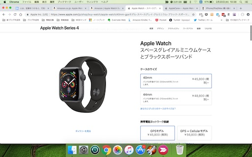 Apple Watch Apple Store価格