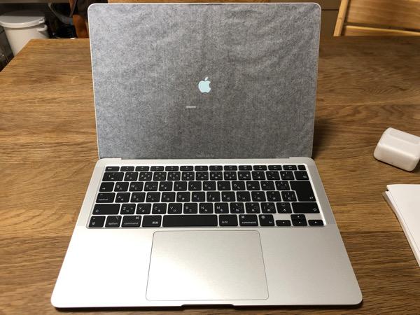 2021 02 18 MacBook Air 開梱の儀6