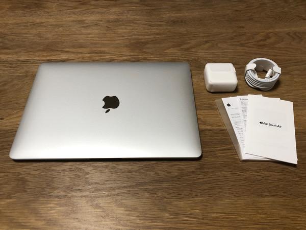 2021 02 18 MacBook Air 開梱の儀5
