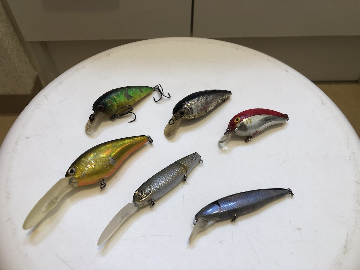 Used lure wash a