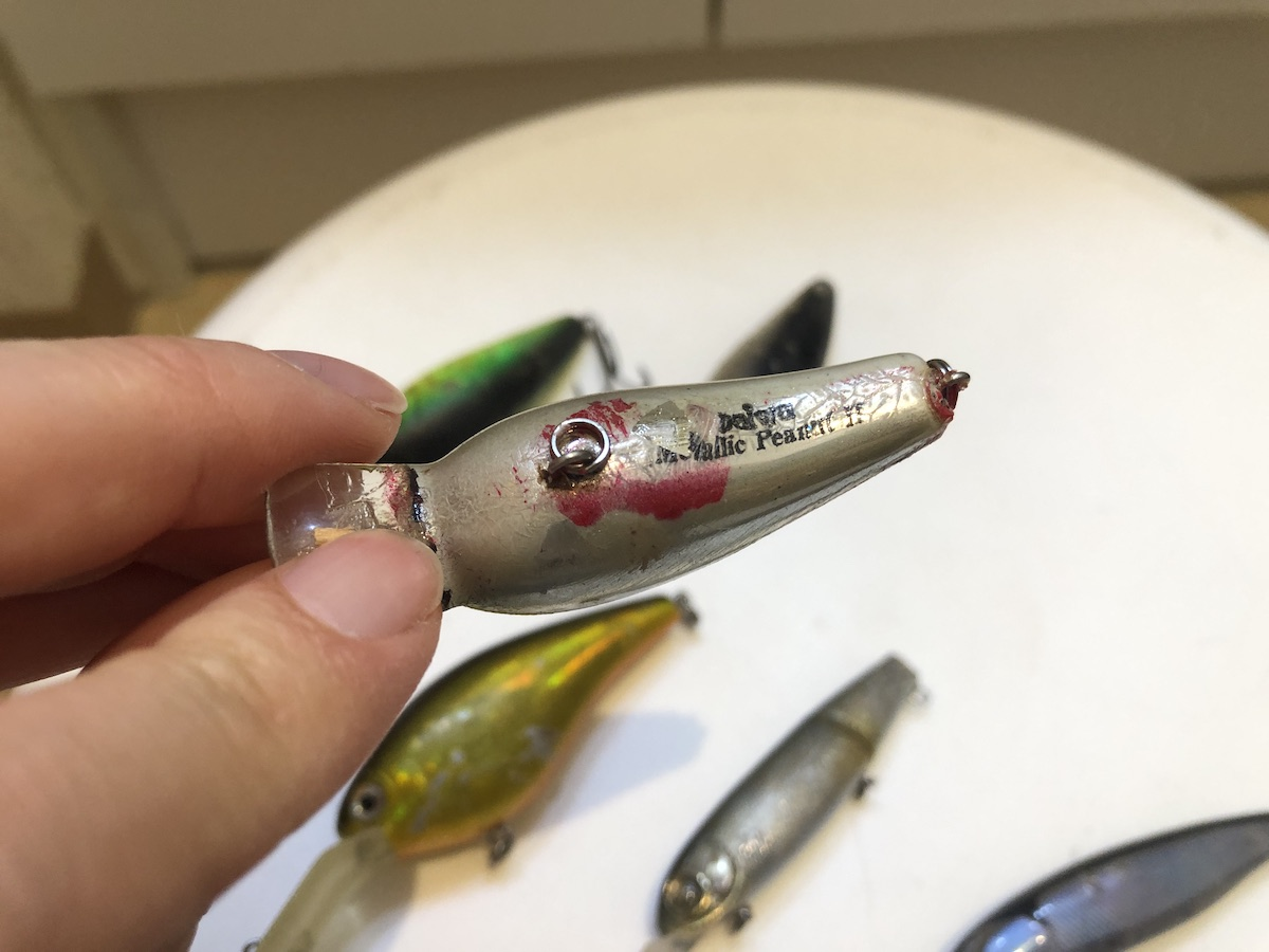 Used lure wash g